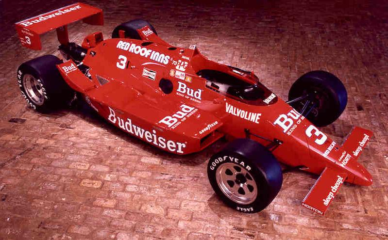 1986 Indy 500 Winner - Rahal