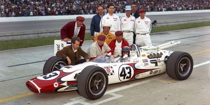 Lola T-90 Jackie Stewart 66 Indy 500
