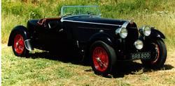 Bugatti Type 57 Corsica Roadster