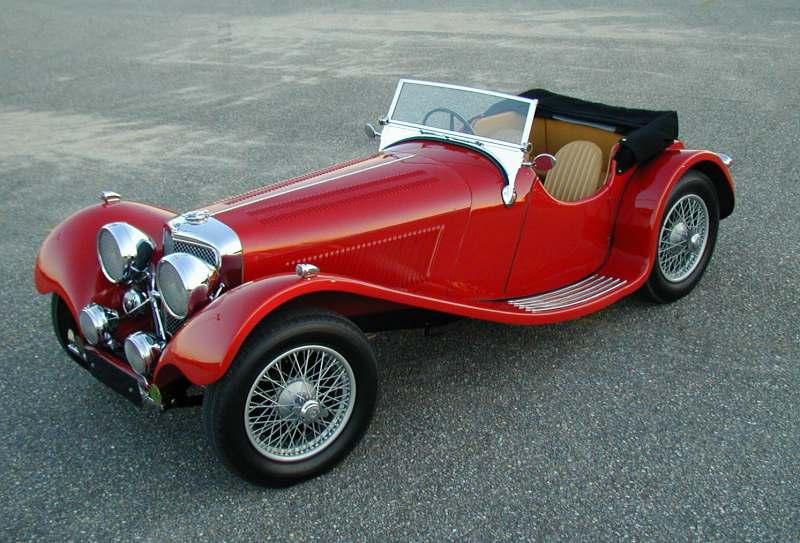 1938 SS-100 Jaguar