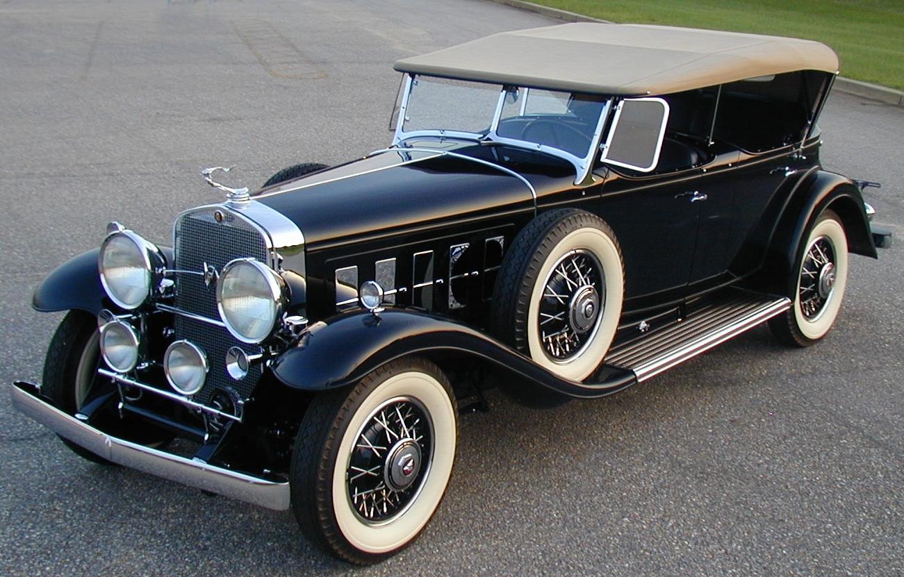 31 Cadillac Fleetwood Sport Phaeton