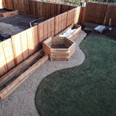 Raised beds completed