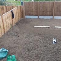Soil Preperation commences