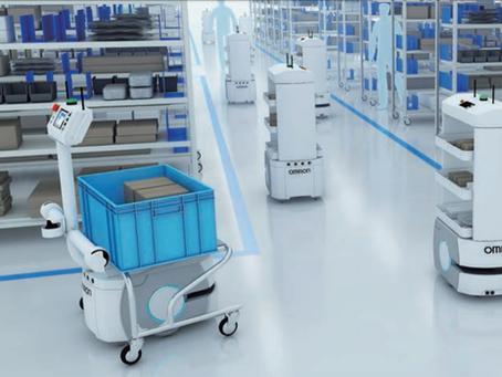 Robô Móvel (AMR) - Modernize o fluxo do seu trabalho