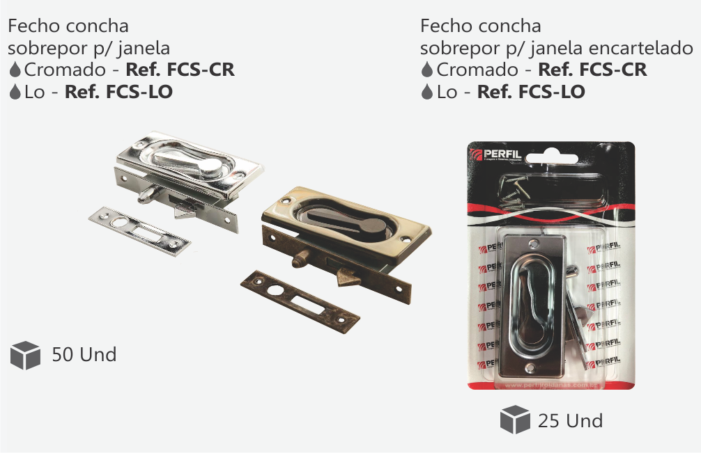 FCS-CR e FCS-LO