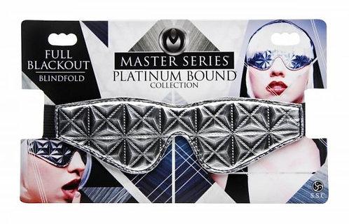 Platinum Bound Full Blackout Blindfold