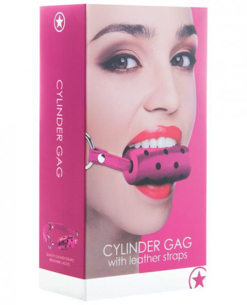 Ouch Cylinder Gag Pink