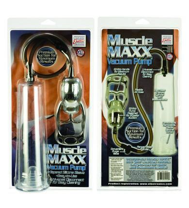 Muscle Maxx Vacuum Pump
