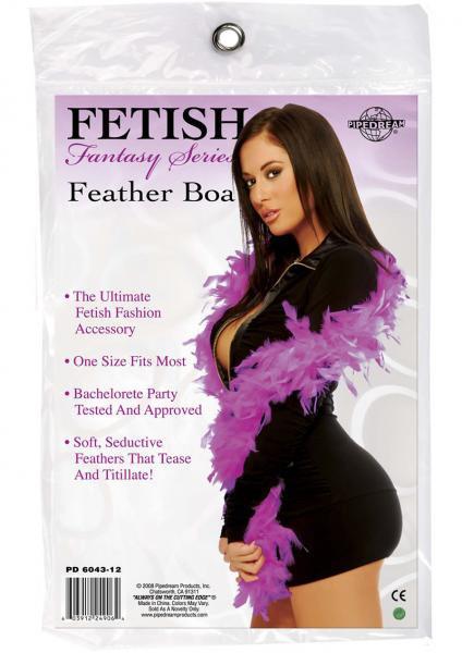 Fetish Fantasy Feather Boa Purple