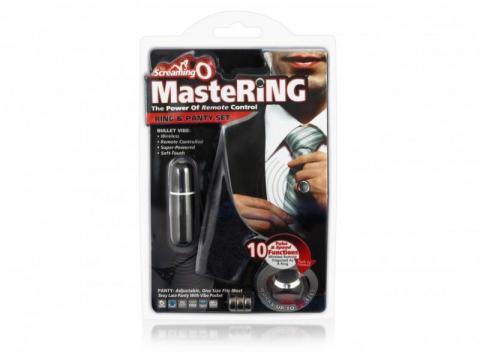 MasteRing Ring Remote Vibrating Panty Set