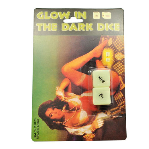 Glowing Foreplay Dice