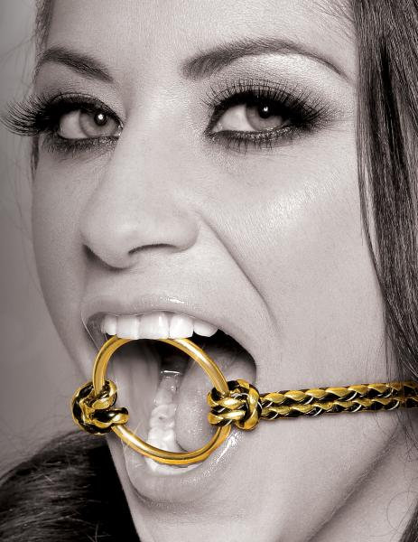 Open Mouth Gag Gold