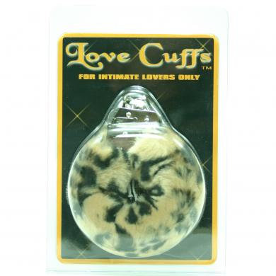Love Cuffs Plush Leopard
