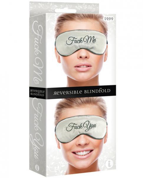 F*ck Me F*ck You Mask Reversible Blindfold