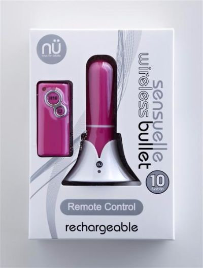 Sensuell Remote Control Rechargeable Bullet