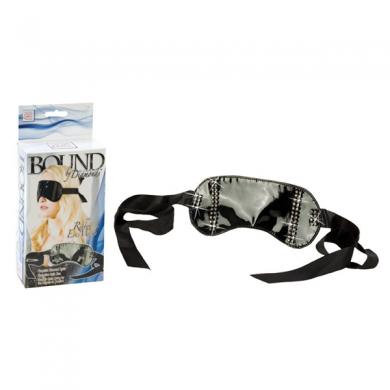 Bound By Diamonds Ribbon Eye Mask