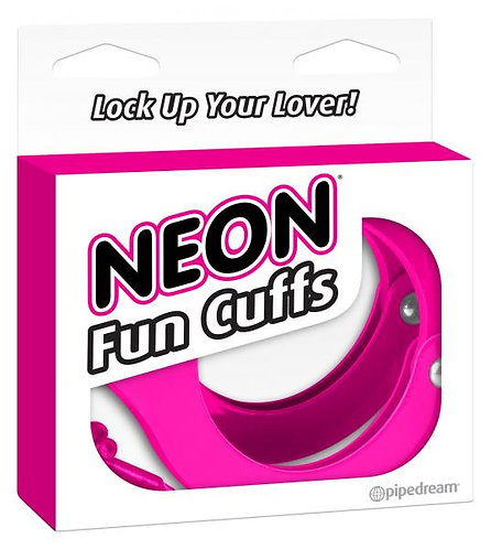 Neon Fun Cuffs Handcuffs