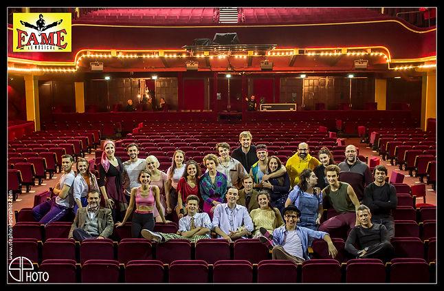 FAME le musical, au Casino de Paris (cast)