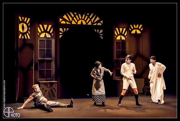 L'homme invisible - H.G Wells (adaptation et mise en scène Ned Grugic) avec Sébastien BERGERY, Stéphanie GAGNEUX, Alexandre GUERIN, Frédéric PRADAL, Antoine THERY et Alexandre LETONDEUR