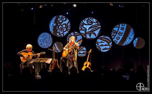 """Diane Tell, concert à Paris """"Le Pan Pipper"""", en 2019"""