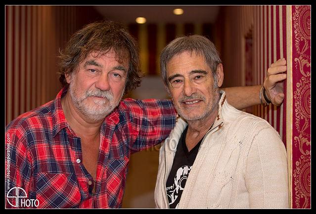 Olivier Marchal et Gérard Lanvin, festival du film de Sarlat, promotion, avant première cinéma