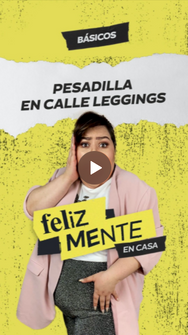 PESADILLA EN CALLE LEGGINGS