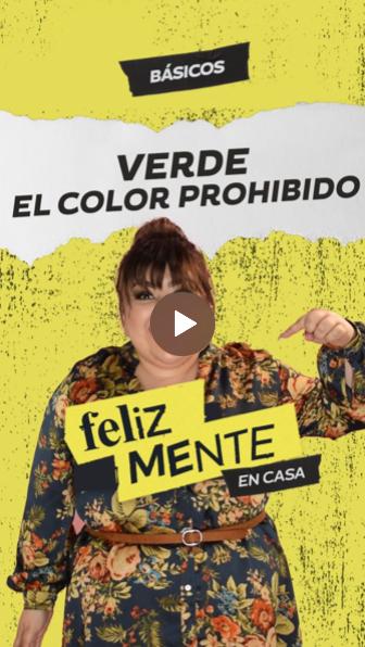 VERDE, EL COLOR PROHIBIDO