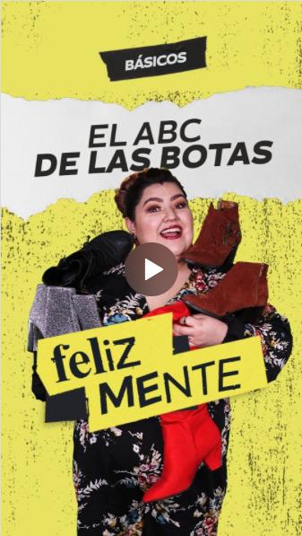 EL ABC DE LAS BOTAS