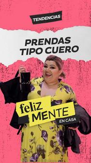 PRENDAS TIPO CUERO