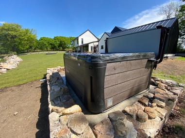 Costa 67 hot tub Garden.JPG