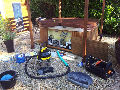 Hot Tub Interim Service
