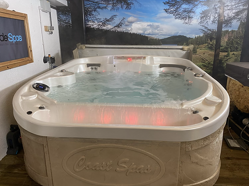 Preowned Coast Spas Cascade II Hot Tub