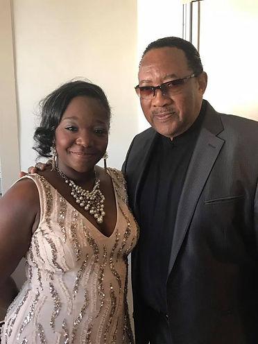 Founder Aalani Renee Necole with Gospel Lengend Bobby Jones