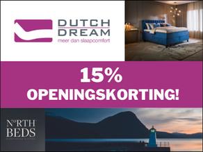 15% openingskorting
