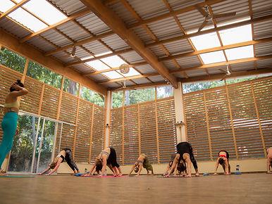 Copy of B Yoga - Class during retreat.jp