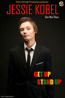 Jessie Kobel Humoriste - Get Up Stand Up