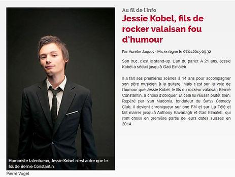 Jessie Kobel, l'illustré