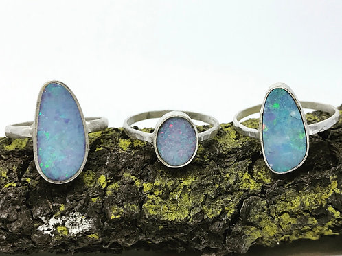 Electric Opal Ring