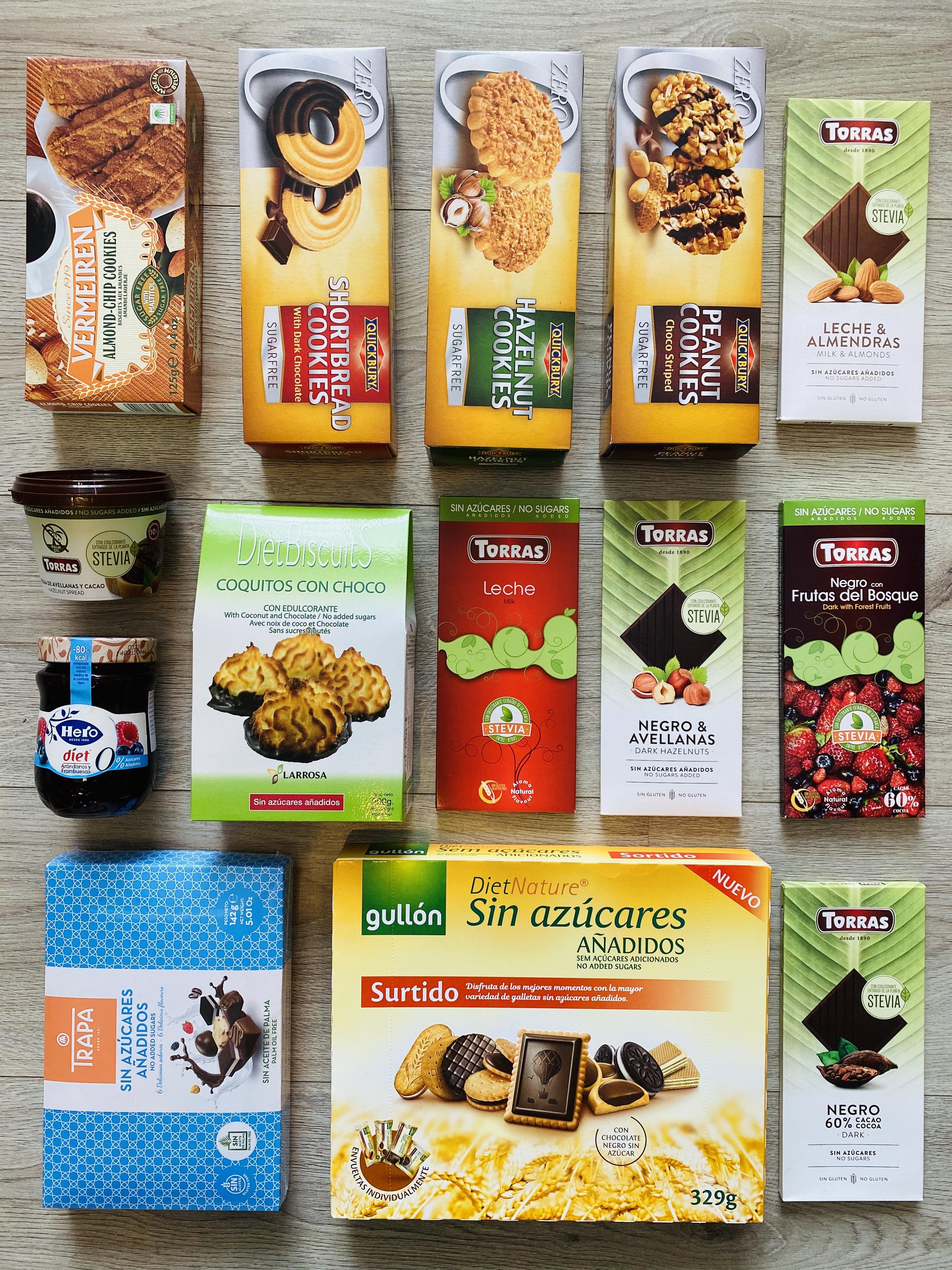 Groothandel, ditsributeur  en leverancier suikervrije dieetproducten