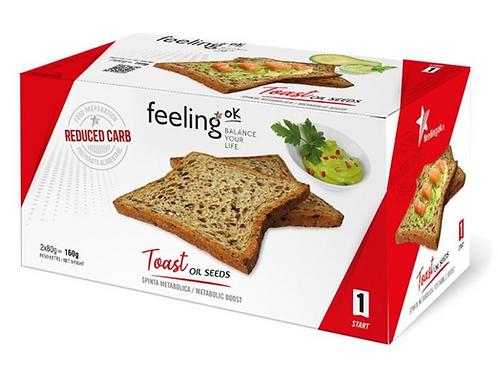 Feeling Ok dieet toast dieet winkel W8CONTROL Turnhout, proteinedieet