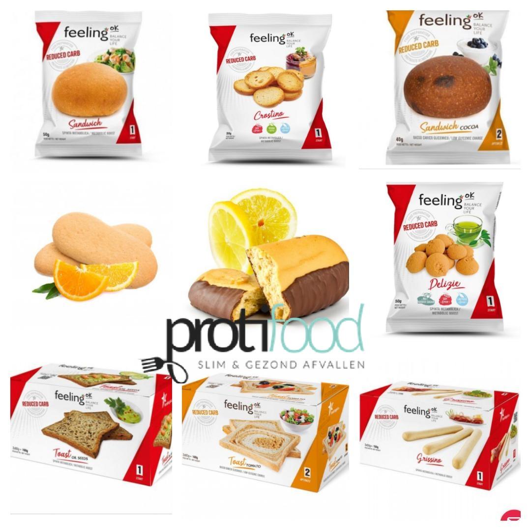 Feeling OK proteine dieet producten