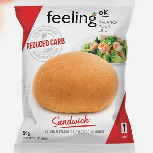 Feeling OK Sandwich Natuur FASE 1 (1 portie)