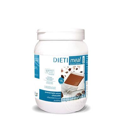 Dietimeal Voordeelpot melkchocolade shake of -pudding 450gr