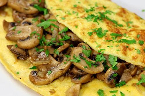 Omelet met Champignons (7 porties)