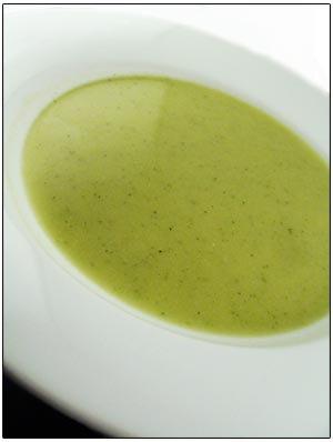 Bloemkool-broccolli soep (5 porties)