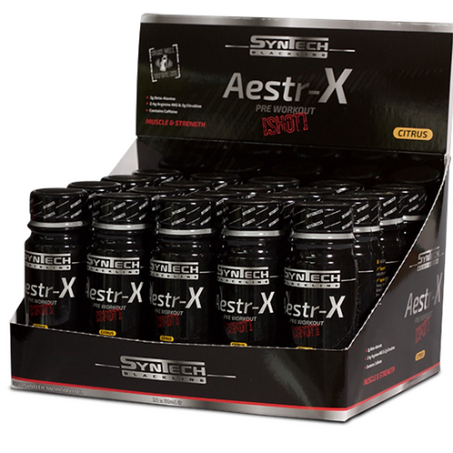Syntech Aestr-X Pre Workout SHOTS 60 ml
