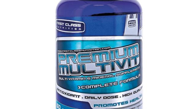 Multivitaminen First Class Nutrition 60 caps