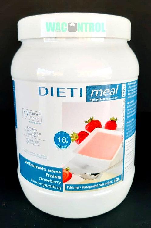 Dietimeal Voordeelpot Shake of -pudding 450gr