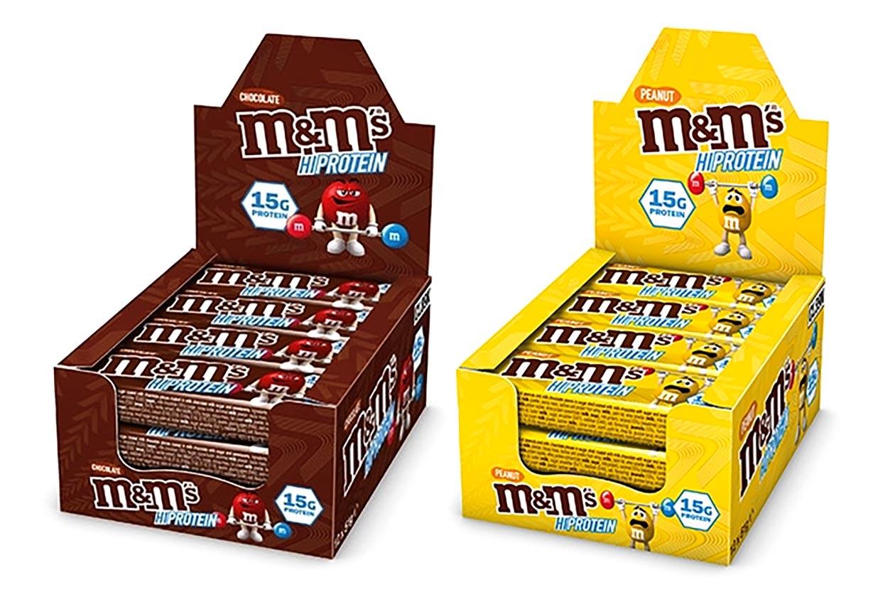 Leverancier en distributeur dieet Mars en M&M sport nutrition bars en sportvoeding