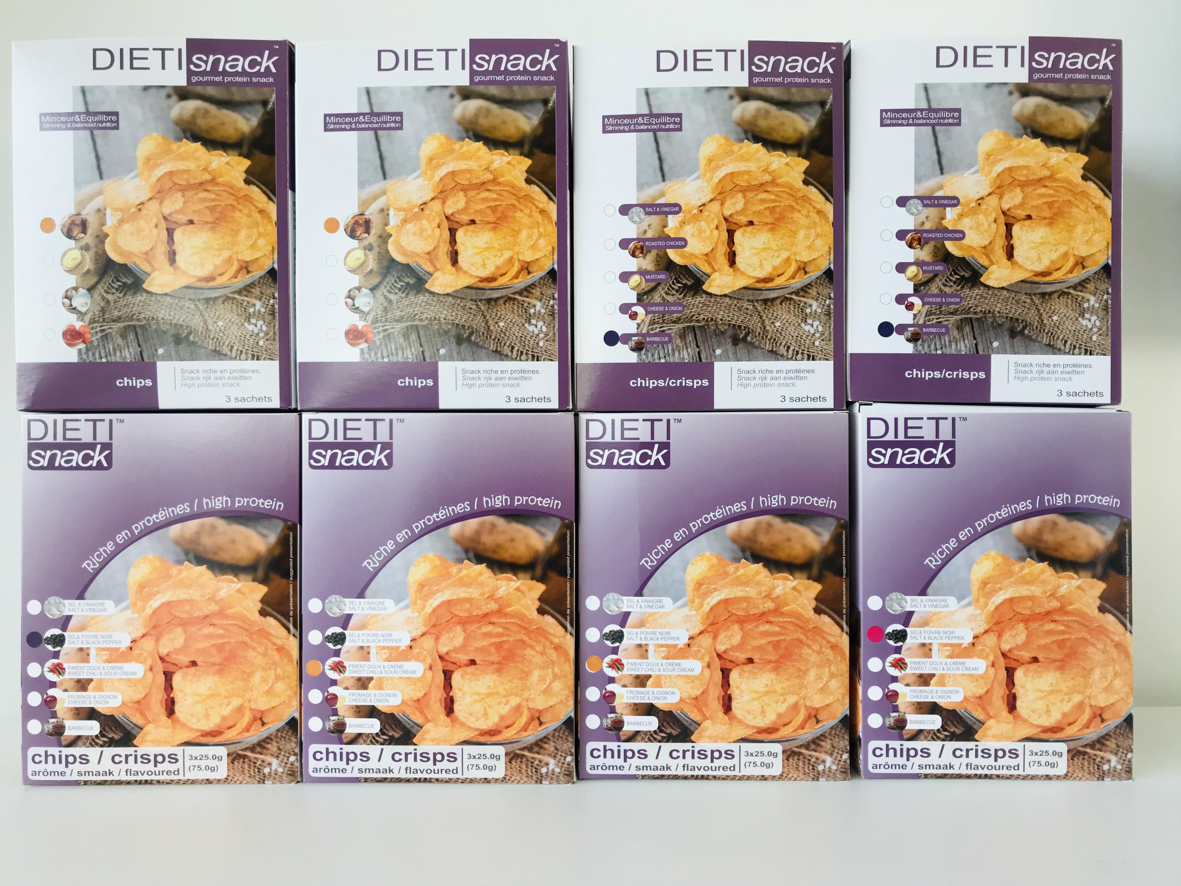 Leverancier proteinedieet chips